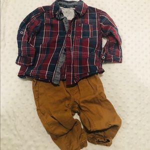 Toddler CK outfit